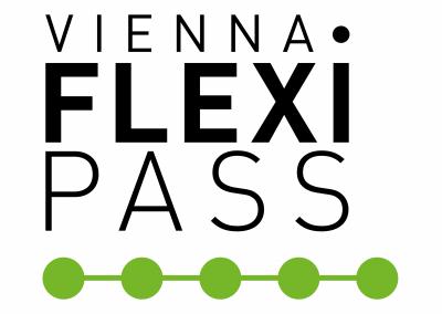 Vienna Flexi PASS - Logo weiß